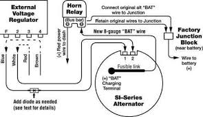 alternator wiring diagram chevy wiring diagrams