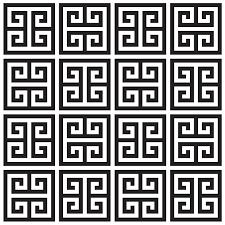 20 ways to greek key wallpaper