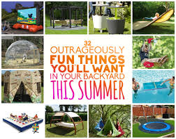 Things In A Backyard Must Have Items For Over Sized Fun In Your Backyard Diy Cozy Home