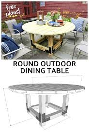 Round Patio Table Plans Free by 650 Best Outdoor Diy Projects Images On Pinterest Outdoor