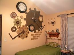 steampunk and vintage things to decorate a bedroom thumbprints