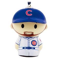 itty bittys mlb chicago cubs ben zobrist hallmark ornament