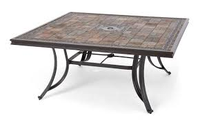 Square Patio Tables Top Patio Table 3442438 Bellagio Sling Aluminum