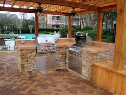 kitchen contemporary outdoor kitchen set outdoor kitchen island