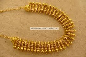 gold jewelry designs necklace images Beautiful gold short necklace for bridals latest indian clothing jpg
