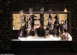 Battery Operated Christmas Window Decorations Uk by Selfridges Is The First Store In The World To Unveil Its Christmas