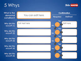 Free 5 Whys Form Powerpoint Template Free Powerpoint Templates 5 Whys Form