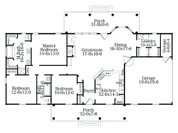 simple colonial house plans 4 bedroom rectangular house plans ground floor house plan idea with