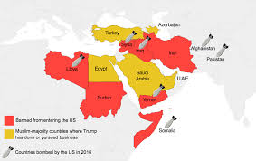 united states of islam map 2016 s immigration ban map the decolonial atlas