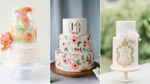 Cake Trends Hand Painted Cakes My Cake Decor