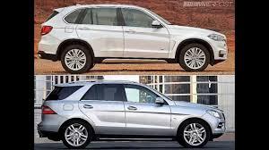 bmw jeep 2013 2014 bmw x5 f15 vs mercedes ml compared youtube