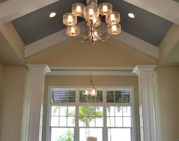 Lights Inside House Sunroom Shiny White Interior Color Wooden Rustic House Design