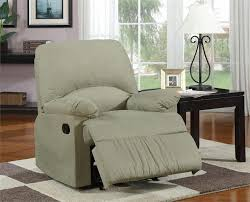 Glider Recliner Chair Microfiber Glider Recliner Chair
