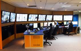 Control Room Desk Improved Cctv Control Room Furniture For Harrogate Borough Council