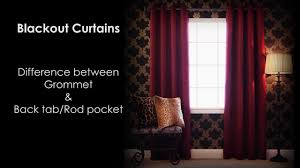 curtain hanging options best home fashion black out curtain two hanging options youtube