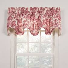 Toile Window Valances Buy Window Valances From Bed Bath U0026 Beyond