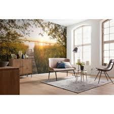 komar lakeside wall mural xxl4 052 the home depot komar lakeside wall mural