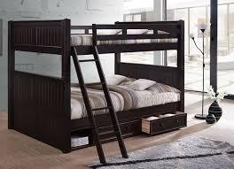 Foster Queen Over Queen Bunk Bed - Queen bed with bunk over
