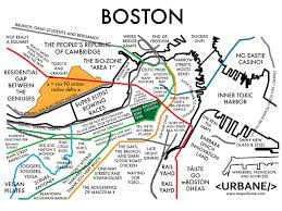 boston tourist map map of boston