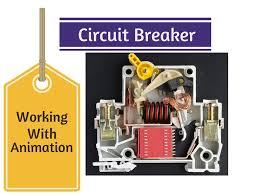 circuit breaker animation u0026 working youtube