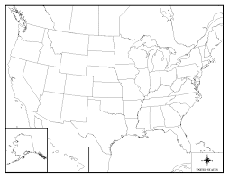 Blank Map Of Us Blank Map Of United States United States Blank Map Of Visited Us