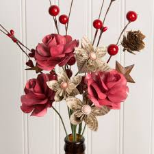 paper flower centerpieces vintage beauty handcrafted paper flower arrangement the