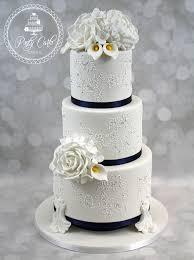 3 tier wedding cake ponty carlo cakes
