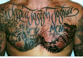 best design tattoos clown chest for and