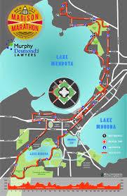 Map Of Madison Wisconsin by Madison Marathon