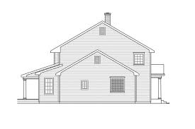 colonial plans modern saltbox house plan kearney 30 062 le colonial plans