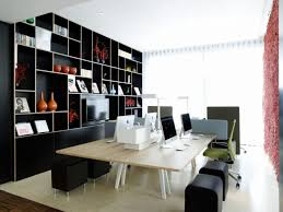 Small Open Bookcase Decor 54 Modern Home Office Decorating Ideas Small Office