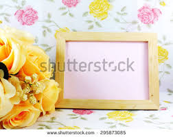 Beautiful Flower Decoration Beautiful Flower Decoration Free Space Space Stock Photo 295873094
