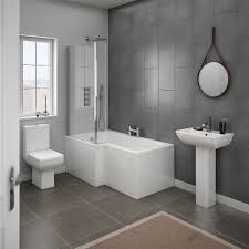 Wash Bathroom Rugs Grey Color Ceramics Wall Layers Beige Bathroom Rugs Square Shape
