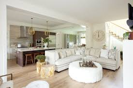 l shaped open floor plan high back sectional sofa contemporary living room pne prize home