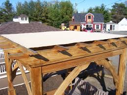 Lattice Pergola Roof by Flat Roof Pergola Gable Design Ideas Write Spell Porch Building