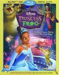 princess frog 3 discs includes digital copy blu
