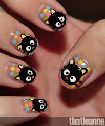 chococat nails i want these and like omg get some