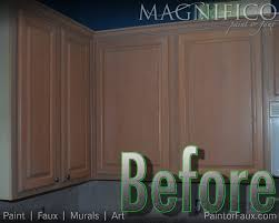 Refinish Oak Kitchen Cabinets by Builder Grade Oak Cabinets With Pickled Oak Stain Before Cabinet