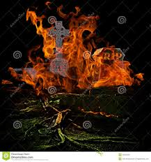 cemetery instrumental soundtrack halloween background sounds spooky scary graveyard with burining fire and flames engulfing g
