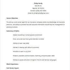 My Resume Agent Sample Resume For Call Center Agent With Experience