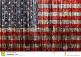 How To Paint American Flag American Flag Painted On Old Wood Stock Image Image 67538093