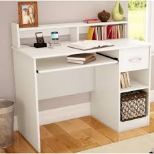 White Desk With Hutch And Drawers White Desks You Ll Wayfair