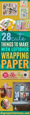 where the things are wrapping paper 28 awesome crafts to make with leftover wrapping paper