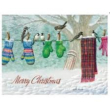 pumpernickel christmas cards press christmas cards clothesline choir