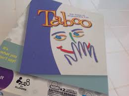 thanksgiving taboo game board game sunday domestic vocation