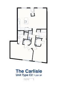 carlisle homes floor plans nob hill condo
