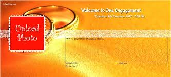 Engagement Ceremony Invitation 5 Free Sample Engagement Ceremony Invitation Templates U2013 Printable