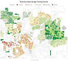 Property Value Map Robert Allison U0027s Sas Graph Samples