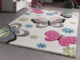 tapis de chambre enfant tapis tapis chambre tapis chambre enfant papillons creme