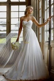 flowing wedding dresses beautiful strapless wedding dresses naf dresses
